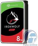 "Seagate IronWolf 8TB 3.5"" 7200RPM NAS Hard Drive $267.75 Delivered @ Futu Online eBay"