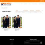 Gents & Ladies Fleece Vests $20.00 Delivered @ Budget Workwear Outlet Store