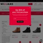 Second Pair of Shoe Half Price @ Williams