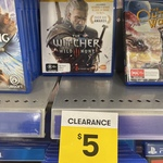 [PS4] The Witcher 3: Wild Hunt: Game of The Year Edition - $5 - BigW (in Store)