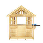 Wooden Cubby House with Veranda and Kitchen $199 (Was $349) + Delivery Only @ Kmart
