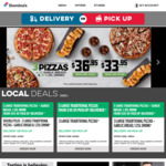Thickshake $2.95 Pick Up 3-5PM Local Time @ Domino's (Selected Stores)