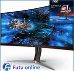 "AOC CU34G2X 34"" WQHD Curved Gaming Monitor 144Hz Adaptive Sync 1ms 3400x1440 VA $516.80 Shipped @ Futu eBay"
