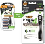 BIC Hybrid Flex 4 Men's Razors Kit $3.72 (RRP $10) for 1st S&S Order + Delivery ($0 with Prime/ $39 Spend) @ Amazon AU