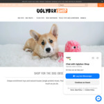 40% off Everything (Dog Treats / Pet Toys) + Delivery ($0 with $120 Order) @ Uglybox Shop