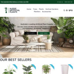 10% off Entire Range + $19.99 Shipping (Free on Orders over $50) @ Aussie Artificial Plants