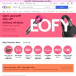 [eBay Plus] $15 off Sitewide (No Minimum) @ eBay