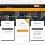 30% off Fusion 360 (1 Year Subscription $413, 3 Year Subscription $1,117) & All Extensions @ Autodesk