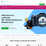 Latitude 28 Degrees Cashback: $10 Cashback When You Spend $30 or More at Deliveroo & More