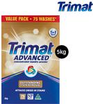 Trimat Advanced Concenrate 5kg Laundry Powder (T&F Loader) $16.99 ($3.40 P/kg) @ ALDI