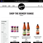 25% off Remedy Drinks with Code, 10% off Subscription + Free Shipping @ Remedy Drinks