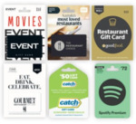 10% off Catch and Spotify Premium Gift Cards | 15% off Coles Mobile SIM: $150 for $125, $120 for $99 @ Coles