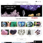 15% off Storewide & Free Shipping @ Unique Crystals & Stones