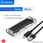 ORICO TCM2F-C3 NGFF M.2 SSD Enclosure $19.95 Delivered @ Shopping Square
