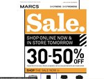 MARCS: 30-50% off Selected Styles with Free Shipping & FREE Returns