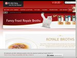 Fancy Feast Royale Broth Cat Food Sample
