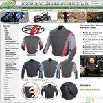 Joe Rocket Nova 2.0 Waterproof Motorcycle Jacket $50 + $11 - $22 P&H