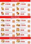 Hungry Jacks Coupons (Valid through 30 Nov 2013)