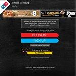 Domino's Any 3 Pizzas + Garlic Bread + 1.25l Coke $19.95 Pickup