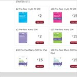 Telstra Pre-Paid Starter Kits Just $15 – Half Price Online Exclusive (RRP $30)