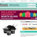 Victoria's Basement Kitchen Aid 5 Piece Cookware PayPal Only $119 until Dec 8