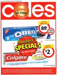 Coles Manager's Specials (Selected QLD Stores) - Oreo 89c Save 90c