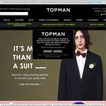 Topman - Free Shipping on All Orders