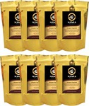 Fresh Roasted Coffee Specialty Range 8 x 245g Bags $59.95 + FREE Shipping @ Manna Beans