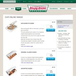 $10 off Krispy Kreme When Order over $20 Online (QLD, VIC, NSW)
