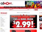 CDWOW - CDs & DVDs from $3.95 (or Less if Ordered through Their US Site)