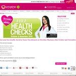 FREE Health Checks (Blood Pressure/Glucose/Cholesterol) @ Priceline Pharmacy - October/November