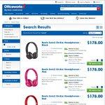 Beats Solo2 On-Ear Headphones - $178 Officeworks