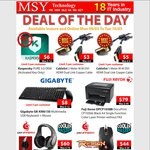 MSY Deals - Kaspersky Pure 3 OEM $6, DVI HDMI Cables from $3, Colour Laser Printer $79+ More