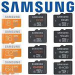Samsung EVO MicroSD Memory Card 16GB $7.96, 32GB $15.16, 64GB $33.20 Delivered @ Futu Online eBay