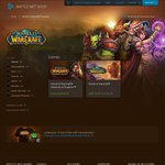 50% off World of Warcraft ($12.47) & 25% off Warlord of Draenor ($41.21) @ Blizzard Online Store