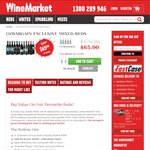 12 Bottles of Mixed Red Wines $65 Delivered from WineMarket, OzBargain Exclusive