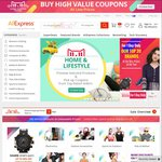 AliExpress Sale 11/11 Coupons USD $4 off $17, $5 off $25 and $10 off $70 Coupons (Use App)