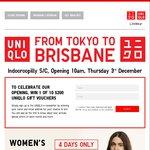 Win 1 of 10 $200 UNIQLO Vouchers from UNIQLO (QLD)