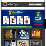 ALDI Liquor Free Delivery over $100 48 Hours Only