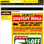 JB Hi-Fi Extra 5% off for Wicked Wednesday (2/12) for Newsletter Subscribers