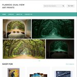 15% off - Glow in the Dark Canvas Prints and Wallpaper @ Flarkoo.com.au