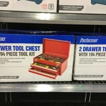 2 Drawer Tool Chest with 194 Piece Tool Kit $15 at Kmart Toombul QLD
