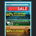 Navman & Magellan Warehouse Sale (80% off Magellan & 60% off Navman Accessories)