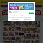 Toyworld's 50 - 80% off August Catalogue Sale - Instore Only