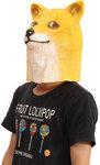Doge Head Mask $8.45 US (~$11.14 AU) Delivered @ Banggood