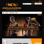 Myocellular Nutrition - Free Shipping on All Orders over $120