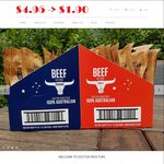 Doctor Proctors Tasty Biltong down from $4.95 to $1.90 Per Packet + Flat Rate Shipping $10.00