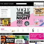 20% off Sitewide @ The Body Shop