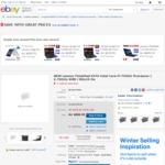 "ThinkPad E470 / 14"" FHD / Gen7 i7-7500U / 256GB SSD / 8GB RAM / 940MX GPU / $721.65 Delivered @ Lenovo eBay Store"