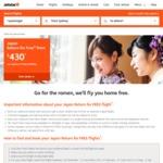 Japan Return for Free Sale @ Jetstar eg. $430 SYD-TOKYO